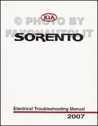 wiring diagram kia sorento wiring image wiring diagram 2007 kia sorento electrical troubleshooting manual original on wiring diagram kia sorento