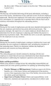 Veterinary Organizational Chart Employee Onboarding Veterinary Business Advisors Inc