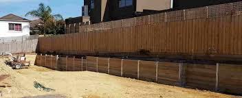 timber sleeper retaining wall company