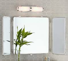 our larger premium quality clean lined contemporary 28 x 40 trifold vanity mirror is a timeless classic offering elegance and sophistication