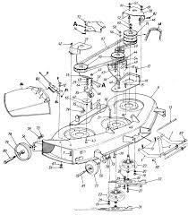 Mtd central park mdl 140 848h046 parts diagram for 46 mowing deck