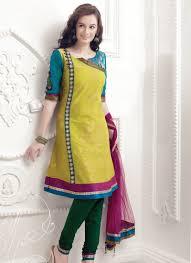 Different Neck Designs For Cotton Salwar Kameez Latest Salwar Kameez Neck Designs Catalogue With Border 2015