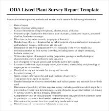 Survey Report 7 Survey Report Templates Samples Word Pdf Free