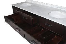 72 inch double sink bathroom vanity. 73 inch double sink bathroom vanity espresso finish carrara white marble top 72 v