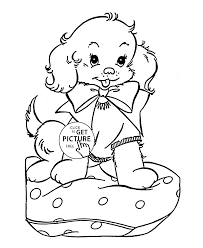 Small Picture Cute Puppy Coloring Pages Printable Coloring Coloring Pages