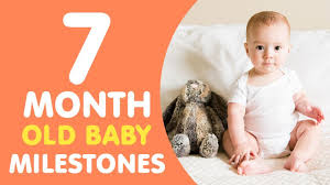 14 Month Old Baby Milestones Chart 7 Months Old Baby Milestones