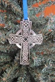 celtic cross ornament irish