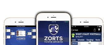 Zorts Sports Youth Sports App