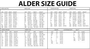 Junior Footwear Size Chart Alder Edge Junior 5mm Zip Up Wetsuit Boots