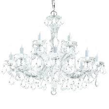 italian crystal chandelier maria light clear modern chandeliers for