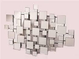 Mirror Wall Art Geometric Mirror Wall Art Mirrored Wall Art