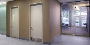 image of hollow metal door frame indoor