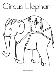Small Picture Printable 25 Circus Elephant Coloring Pages 6754 Free Printable