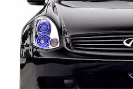 G35 Fog Light Kit Fitted Halos Profile Prism Rgb Color Changing Led