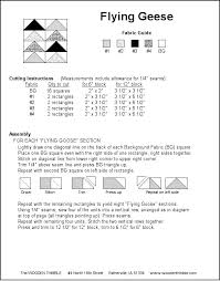 7 best Cutting Charts/Flying Geese images on Pinterest | Projects ... & Free on-line pattern for Flying Geese quilt block Adamdwight.com