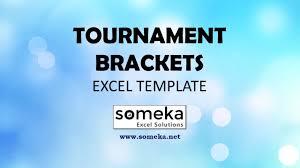 Excel Ncaa Tournament Bracket Tournament Bracket Free Excel Template For 8 16 Team Brackets