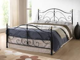 Milano Bedroom Furniture Milano Metal Bed In Either A Cream Or Black Finish In Sizes 4ft6