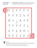 connecting letters in a scramble f