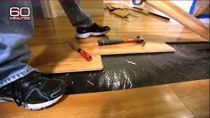 Consumers Rip Out Floors In California, Fearful They Are Giving Off  Formaldehyde Gas.