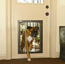 Backyards : Making Doggie Door For Sliding Glass Ideas How To ...