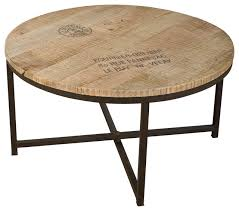 round industrial coffee table. Impressive On Round Industrial Coffee Table Tables Houzz B