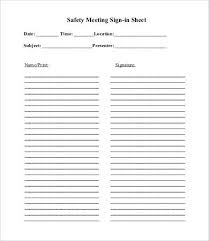sign up sheet template printable meeting sign in sheet template 13 free pdf documents download