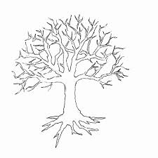 Small Picture Coloring Pages Of Trees With Leaves Coloring Coloring Pages