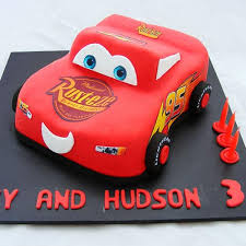 3d Lightning Mcqueen Cake My Cake Place