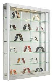 Wall Mount Cabinet With Lock Wall Mount Display Cases Professional Hanging Glass Cabinets