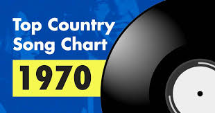 Top 100 Country Song Chart For 1970