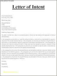 Examples Of Letter Of Intent 13 Letter Of Intent Job Sample Sopexample
