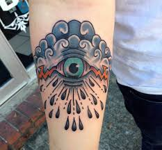 Eye Tattoo On Chest