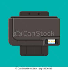 computer printer clipart. computer printer. laser or inkjet. - csp49936529 printer clipart