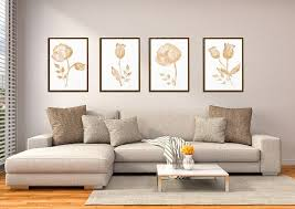 watercolor flower art print bedroom