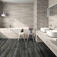 Wood tile flooring bathroom Late Bathroom Fancy Wood Tile Bathroom 14 Gray Grain Look Like Bathroom Nice Wood Tile Philiptsiarascom Marvelous Wood Tile Bathroom Philiptsiarascom