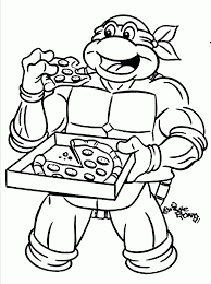 Small Picture Coloring Pages Ninja Turtles Coloring Pages Pdf Archives Coloring