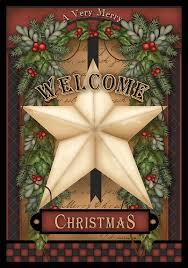 garden house flags. Custom Decor Flag - Welcome Christmas Star House [28\ Garden Flags A