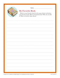 descriptive writing prompt st and nd grade writing prompts my favorite book writing prompt