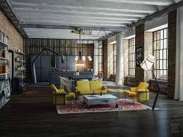 industrial style loft apartments designs 6 loft apartment INDUSTRIAL STYLE  LOFT APARTMENT DESIGNS industrial style loft