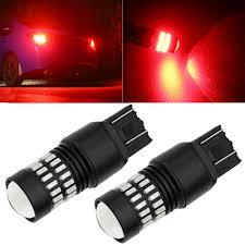 Fast Blinking Light Details About 2x 7443 7440 48smd Red Led Brake Flash Strobe Blinking Tail Stop Light Bulb Fast
