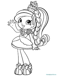 A lot of the shopkins are food, such as an apple, a strawberry or a bar of chocolate. Shopkins Free Downloads Shopkin Coloring Pages Printable Cloudclour