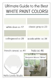 Richards Paint Color Chart How To Choose The Best White Paint Color Every Time Home