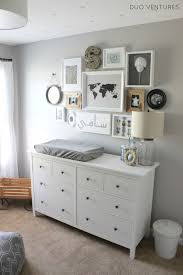 grey nursery dresser. Perfect Grey Fascinating Design Nursery Dresser Ideas Come With Rectangle Shape White  Wooden And Grey Color Changing Pad R