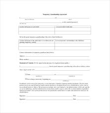 Custody Agreement Template Custody Agreement Template 10 Free Word Pdf Document