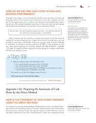 15 Statement Of Cash Flows Direct Method E Mail Statement