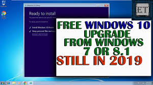 How To Upgrade Windows 8 To Windows 10 How To Still Upgrade From Windows 7 Or 8 1 To Windows 10 For Free Still In 2019