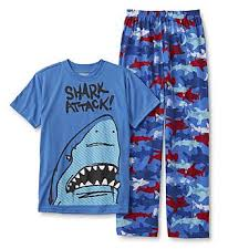size xl pajama sets joe boxer boys pajamas kmart joe boxer boys pajama shirt pants shark attack