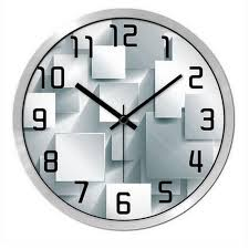 office clock wall. Watch Wall Clock Classic Beautiful Office Silent Time Table Relogio De Parede Metal Art Round Watches QQN171-in Clocks From Home 3