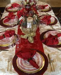 Christmas Table Setting Table Decoration Ideas For Christmas Home Decor Ideas