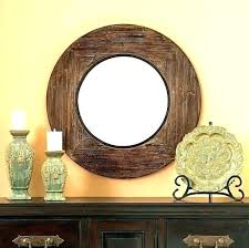 wood wall mirrors. Wood Wall Mirrors. Fine Cherry Mirrors Framed Round Frame Mirror With E